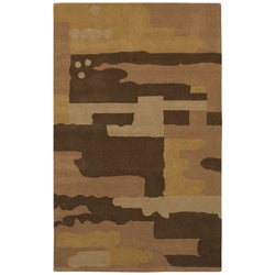 Hand-tufted Temptation Wool Rug - 5' x 8' - Thumbnail 0