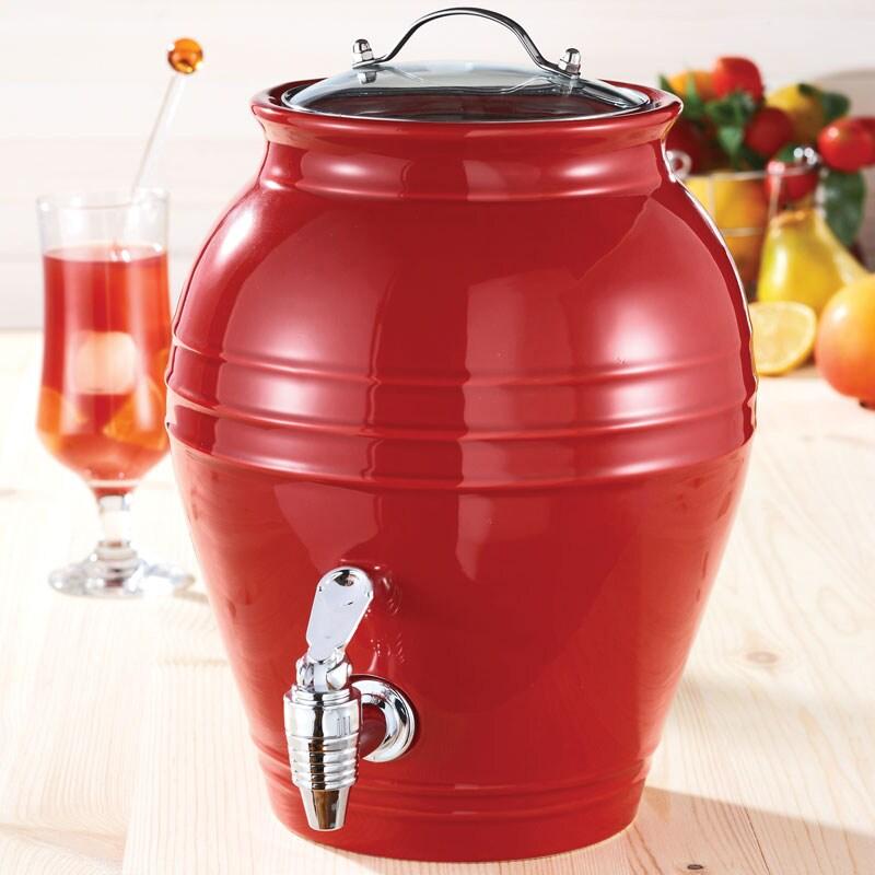 American Atelier Honey Pot Cherry Drop 203-oz Beverage Dispenser
