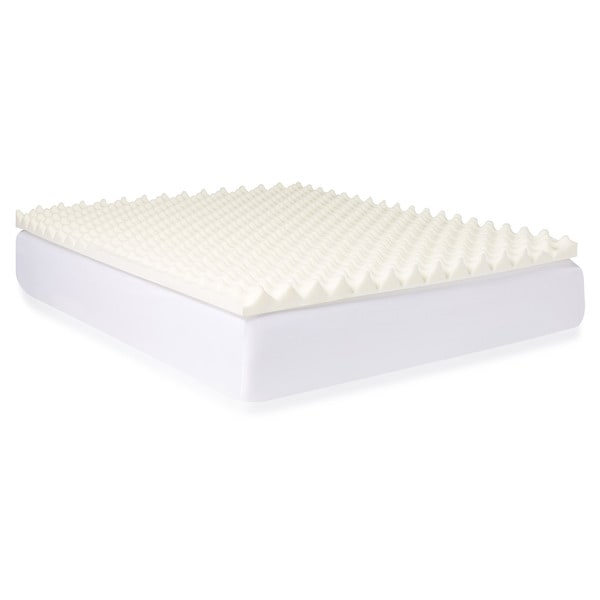 slumber solutions big bump 3inch memory foam mattress topper free shipping today