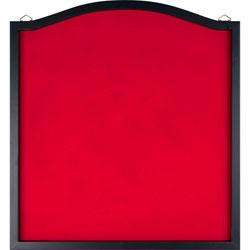 TG Solid Wood Frame Red Felt Dart Backboard