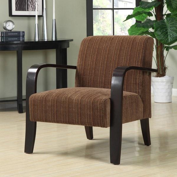 Metro Chocolate Bent Arm Chair