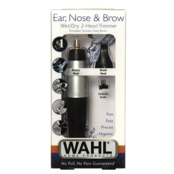 Wahl Ear, Nose & Brow 2 in 1 Trimmer