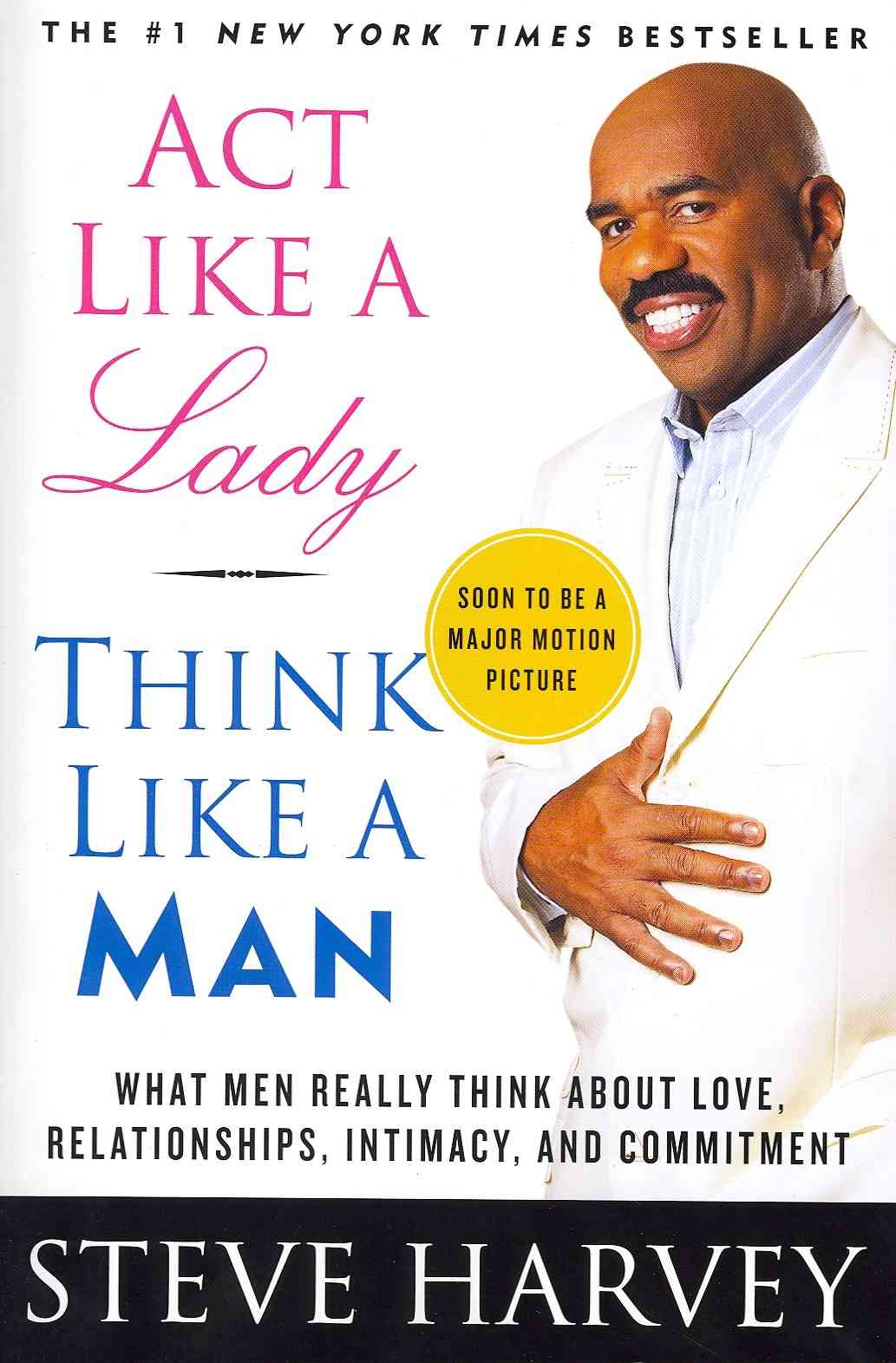 Act Like a Lady, Think Like a Man: What Men Really Think About Love, Relationships, Intimacy, and Commitment (Paperback) - Thumbnail 0