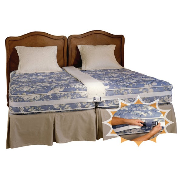 Shop Create A King Bed Connector Converts Two Twin Beds