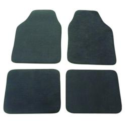 Grey Automotive 4-piece Carpet Floor Mat Set