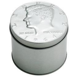 August Steiner Men's Kennedy Half Dollar Silver Watch - Thumbnail 2