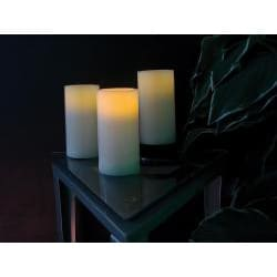 Flicker LED Wax 3-piece Candle Set - Thumbnail 1