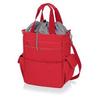 Activo Red Insulated Multi-pocket Tote Bags