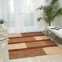Nourison Hand-tufted Panache Multicolor Rug (5'6 x 7'5) - 5'6 x 7'5