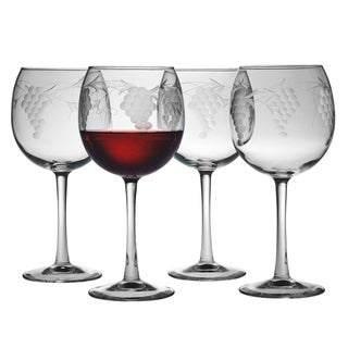 Sonoma Handcut Red Wine Glasses (Set of 4)