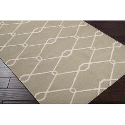 Hand-woven Harding Wool Rug (5' x 8')