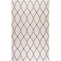Hand-woven Rutledge Wool Area Rug (5' x 8')