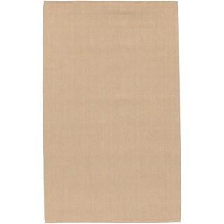 "Hand-woven Gerald Natural Jute Area Rug - 3'6"" x 5'6"""