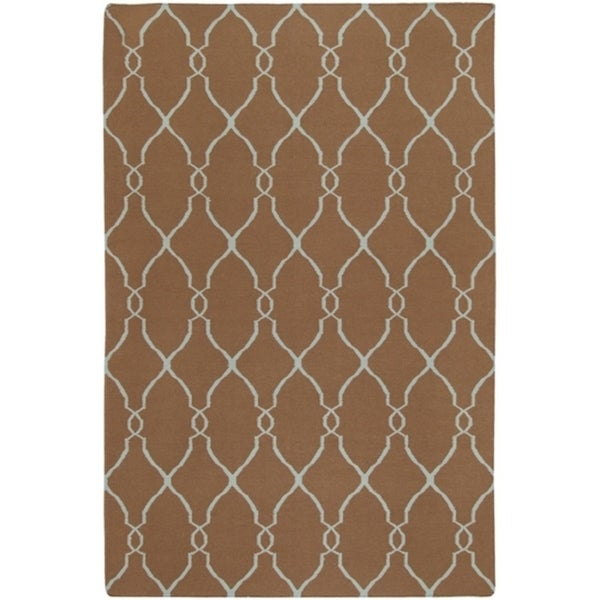 Hand-woven McKinley Wool Area Rug (5' x 8') - 5' x 8'
