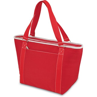 Picnic Time Topanga Red Large Insulated Shoulder Tote