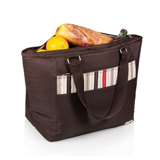 Picnic Time Topanga Brown Large Insulated Shoulder Tote