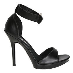 Pleaser 'Vogue' Women's Black Ankle-strap Heels - Free Shipping ...