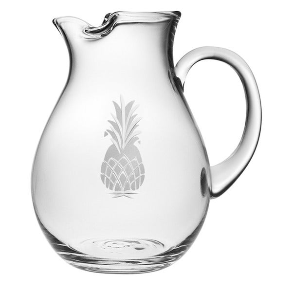 Pineapple Handcut Classic Round Pitcher