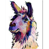 Pat Saunders-White 'Fabio' Canvas Art
