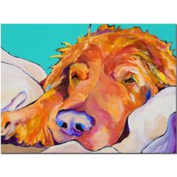 Pat Saunders-White 'Snoozer King' Canvas Art