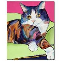 Pat Saunders-White 'Ursula' Canvas Art