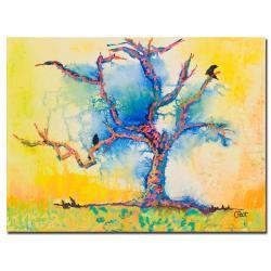 Pat Saunders-White 'Wind Riders' Canvas Art
