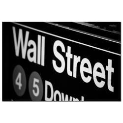 Yale Gurney 'Wall Street Next' Canvas Art