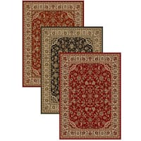 Admire Home Living Amalfi Sarouk Traditional Area Rug (7'9 x 11') - 7'9 x 11'