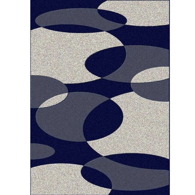 Admire Home Living Brilliance Bubbles Area Rug (5'5 x 7'7)