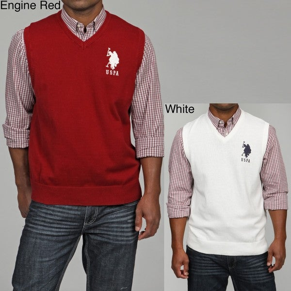 393819433 Shop US Polo Association Men s Sweater Vest FINAL SALE - Free ...