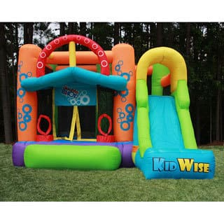 KidWise Double Shot Inflatable Bounce House|https://ak1.ostkcdn.com/images/products/5996426/P13684406.jpg?impolicy=medium