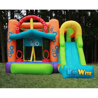 KidWise Double Shot Inflatable Bounce House