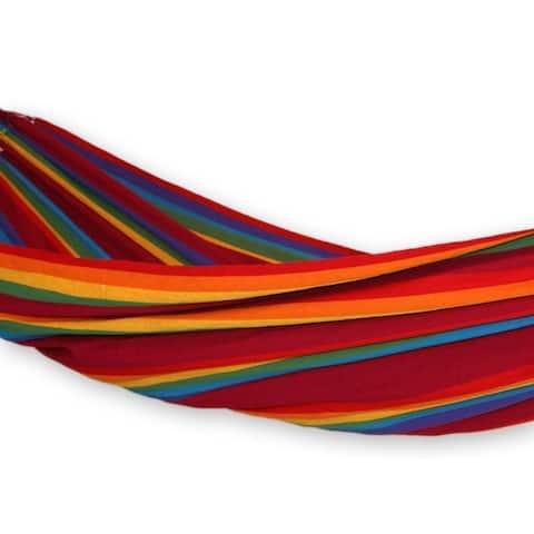 Cotton 'Iracema Rainbow' Hammock (Brazil)