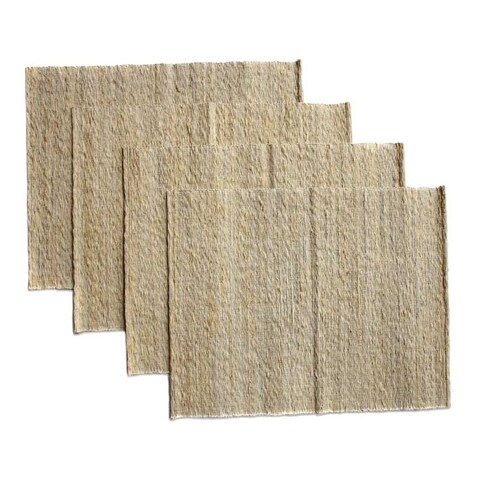 Handmade Set of 4 Cotton 'Nature's Truth' Placemats (Indonesia)