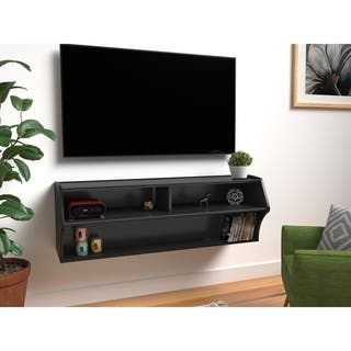 Broadway Black Wall Mounted A/V Console|https://ak1.ostkcdn.com/images/products/5996624/P13684561.jpg?impolicy=medium