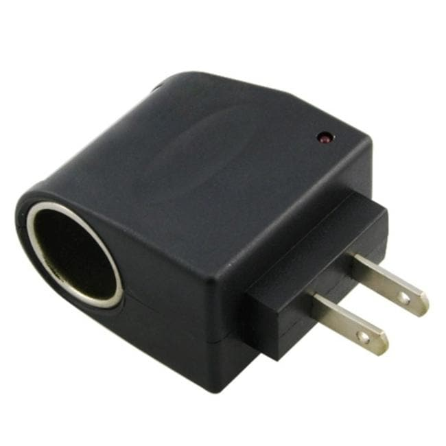 INSTEN AC to DC Car Charger Socket Adapter - Thumbnail 0