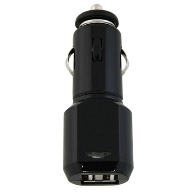 INSTEN 2-port USB Car Charger with LED Light (Pack of 2)