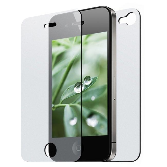 Premium Apple iPhone 4 2-piece Screen Protector (Pack of 4)