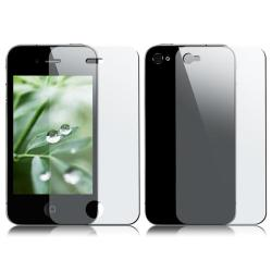 Premium Apple iPhone 4 2-piece Screen Protector (Pack of 4) - Thumbnail 1