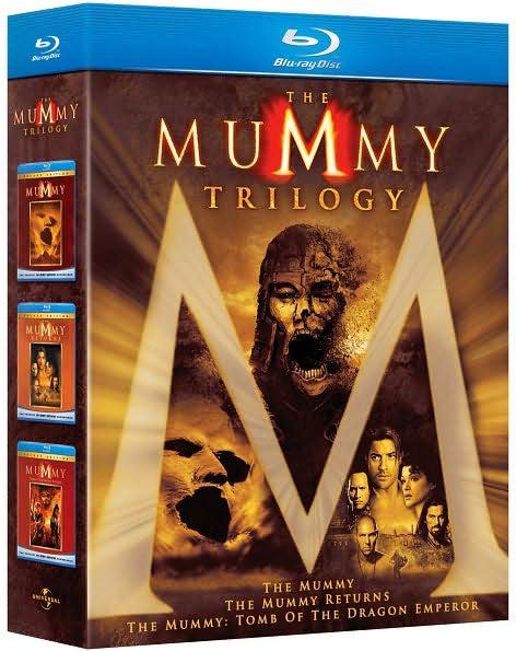 The Mummy Trilogy (Blu-ray Disc)