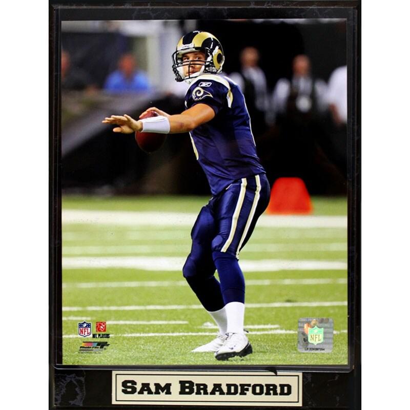 St. Louis Rams Sam Bradford Plaque