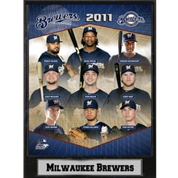 2011 Milwaukee Brewers Plaque - Thumbnail 0