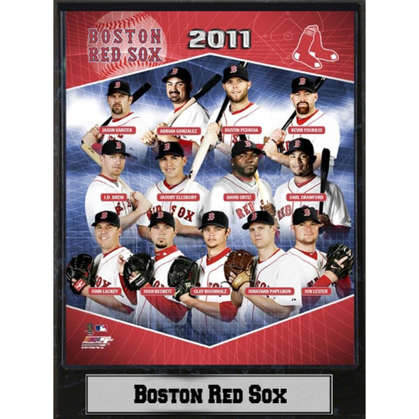 Encore Select 2011 Boston Red Sox Stat Plaque (9x12)