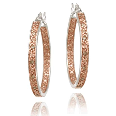 548559ee0dfce Buy Champagne Diamond Earrings Online at Overstock | Our Best ...