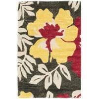 Safavieh Handmade Soho Brown/Multicolor New Zealand Wool Accent Rug - 2' x 3'