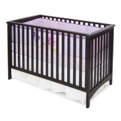 Shop London Euro Style Jamocha Stationary Crib Free