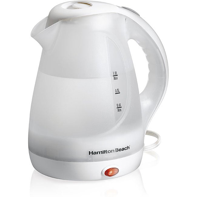 Hamilton Beach 32-oz Electric Kettle - Thumbnail 0