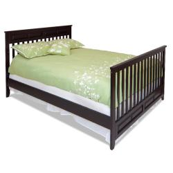 Logan Jamocha 4-in-1 Convertible Crib