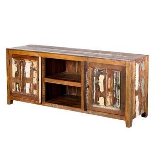 Weathered Reclaimed Wood Sideboard