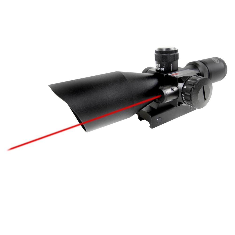 Firefield 2.5-10x40 Red Laser Rifles Scope